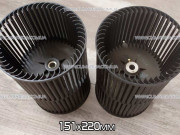 Ø151x220 mm centrifugal fan indoor unit of duct air conditioner