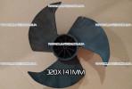 Крыльчатка 320x141 мм