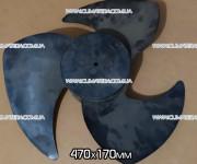Крыльчатка 470*170 мм наружного блока кондиционера