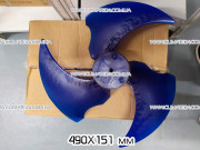 Вентилятор 490x151 мм для кондиционера