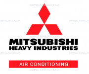 Лицевая панель — оригинальная запчасть для Mitsubishi Heavy SRK20ZM-S