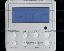 Проводной пульт XK60 дистанционного управления для кондиционеров GREE, TOSOT, Cooper&Hunter, Dantex