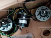 YSK120-50-4G FN100A 15012406 мотор кондиционера на две турбины