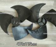 Крыльчатка 401*115R мм наружного блока кондиционера