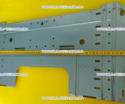 монтажная карта для монтажа внутреннего блока кондиционера Mitsubishi Heavy SRK25ZM-S